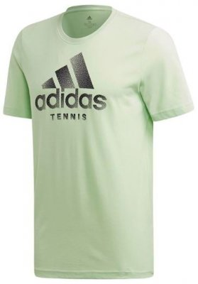 ADIDAS Logo Tee Green Mens