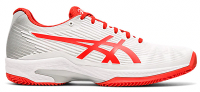 ASICS Solution Speed FF Women All Court white red