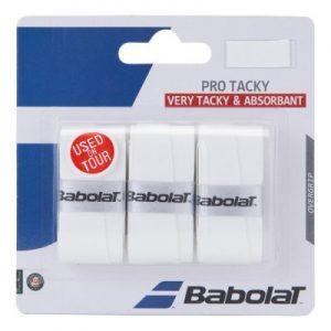 Babolat Pro Tacky Grip 3-pack White