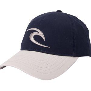 Icon Snapback Cap, Mood Indigo, One Size, Rip Curl