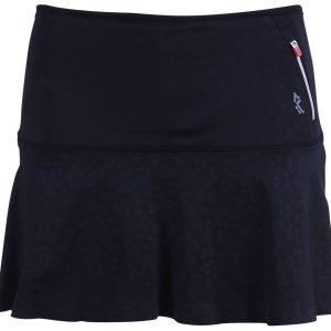 Livy Run Skirt, Clover Shiny Black, Xs, Röhnisch