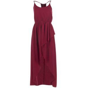 Must Chloe Long Dress, Spicy Red, 40, Kjolar Och Klänningar