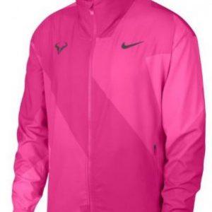 NIKE Rafa Court Jacket Pink Mens