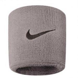 NIKE Swoosh Wristband Grey
