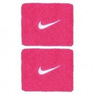 NIKE Swoosh Wristbands Pink
