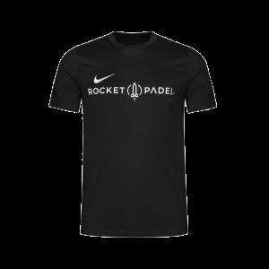 Nike Men's Tee Powered by Rocket Padel 2021 | Black