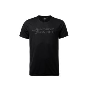 Nordic Padel T-shirt Svart S