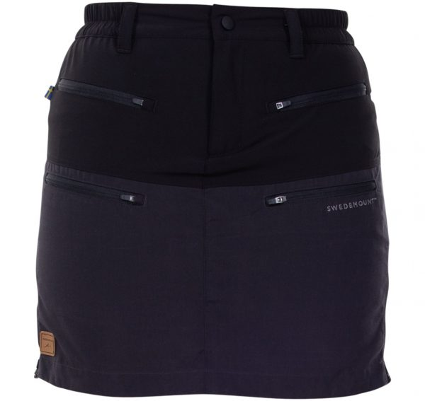 Nordkap Skirt W, Charcoal/Black, 39, Outdoor