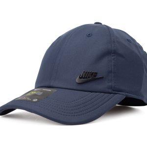 Unisex Nike Sportswear H86 Cap, Obsidian/Obsidian/Obsidian/Bla, Onesize, Nike