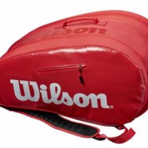 WILSON Padel Super Tour Bag red - 2020