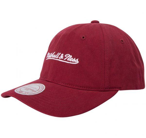 Washed Cotton Dad Hat Strapbac, Burgundy, Onesize, Varumärken