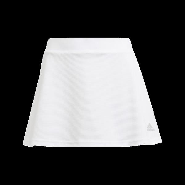 adidas Junior Club Skirt | White