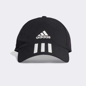 Adidas 3 Stripes Cap Black