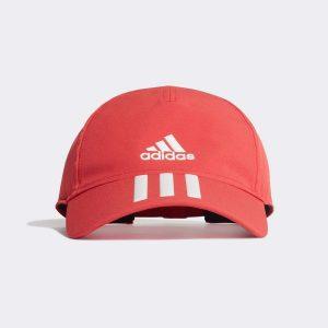 Adidas 3 Stripes Cap Röd