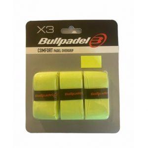 Bullpadel Comfort Padel Overgrip Neon 3-Pack