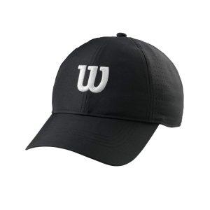 Wilson Ultralight Tennis Cap Black