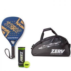 ZERV Padel Paketerbjudande (Dominate Padel Master + Superb Bag + Padel Master+)