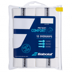 Babolat Pro Tacky 12-pack White