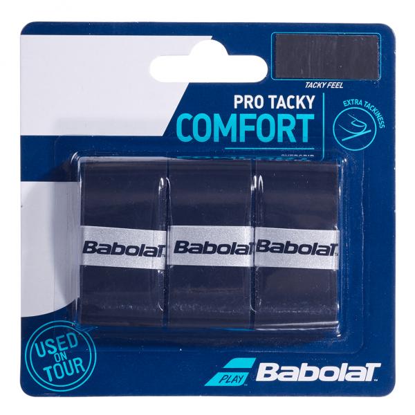 Babolat Pro Tacky 3-pack Black