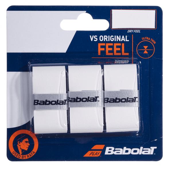 Babolat VS Original Feel 3-pack White