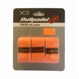 Bullpadel Comfort Padel Overgrip Orange 3-Pack