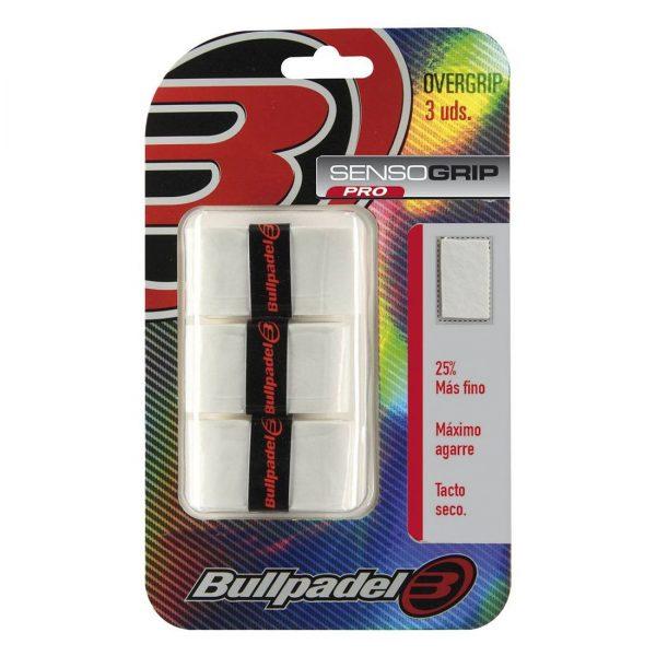 Bullpadel SensoGrip Pro 3-pack vit