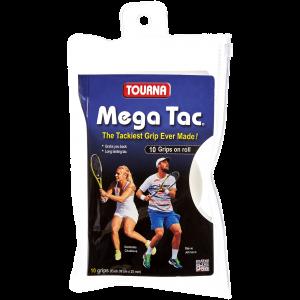 Tourna Mega Tac 10-pack White
