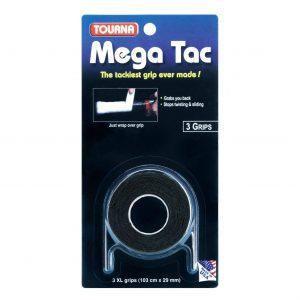 Tourna Mega Tac 3-pack svart
