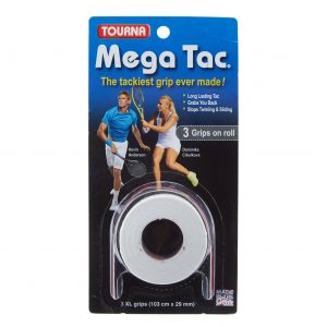 Tourna Mega Tac 3-pack vit