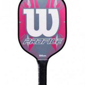 WILSON Profile Pickleball Racket Pink