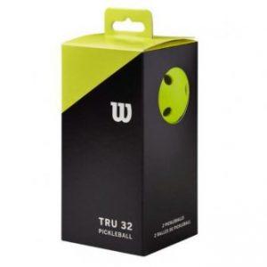 WILSON Tru 32 Pickleballs 2-pack