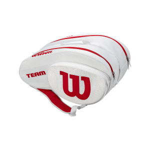 Wilson Padel Bag | White/Red