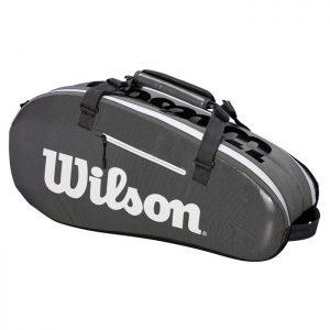 Wilson Super Tour 2 Comp Bag Grå