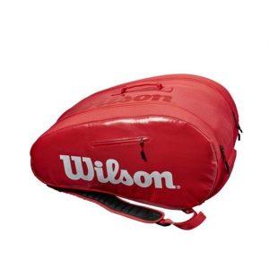 Wilson Super Tour Padel Bag Red