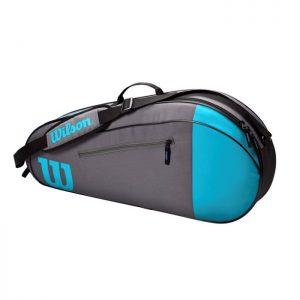 Wilson Team 3 Bag Blue/Gray