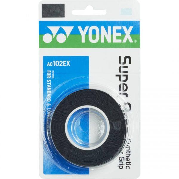 Yonex Super Grap 3-pack Black