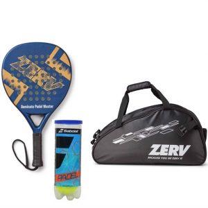 ZERV Padel Paketerbjudande (Dominate Padel Master + Superb Bag + Babolat padel+)