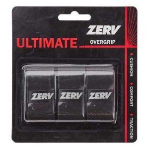 ZERV Ultimate Overgrip Svart 3-pack
